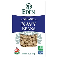 Eden Organic Dried Navy Beans, 16oz. MAIN