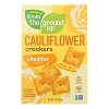 From the Ground Up Cheddar Cauliflower Crackers, 4oz. THUMBNAIL