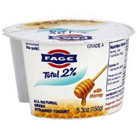 Fage 2% Yogurt w/ Honey, 5.3oz. LARGE