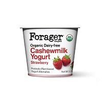 Forager Strawberry Cashewmilk Yogurt, 5.3oz. MAIN