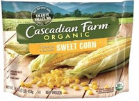 Cascadian Organic Sweet Corn, 16oz. LARGE