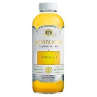 GT's Enlightened Lemonade Organic Kombucha, 16 oz. THUMBNAIL
