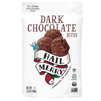 Hail Merry Dark Chocolate Bites, 3.5oz LARGE