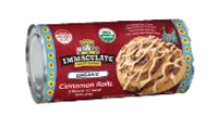 Immaculate Baking Organic Cinnamon Roll Dough, 5 rolls LARGE