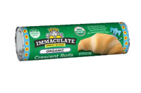 Immaculate Baking Crescent Roll Dough, 8 count LARGE