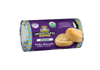 Immaculate Baking Organic Flaky Biscuit Dough, 8 per LARGE