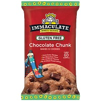 Immaculate Baking GF Chocolate Chunk Cookie Dough, 14oz. MAIN