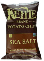 Kettle Brand Sea Salt Potato Chips, 1.5 oz. MAIN
