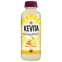 KeVita Lemon Ginger Sparkling Probiotic Drink, 15.2 oz. THUMBNAIL