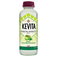 KeVita Lime Mint Coconut Sparkling Probiotic Drink, 15.2 oz. THUMBNAIL