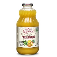 Lakewood Organic Pineapple Juice, 32oz. THUMBNAIL