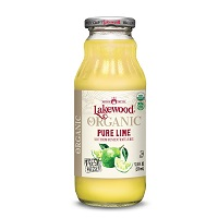 Lakewood Organic Pure Lime Juice, 12.5oz. THUMBNAIL