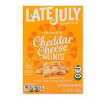 Late July Organic Mini Cheddar Sandwich Crackers,  5 oz MAIN