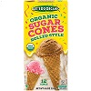 Let's Do Organic Sugar Cones 12 pack, 4.6 oz. THUMBNAIL