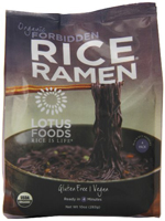 Lotus Foods Organic Forbidden Rice Ramen (4 pack), 10 oz. MAIN
