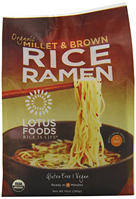 Lotus Foods Organic Millet & Brown Rice Ramen (4 pack), 10 oz. MAIN