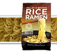 Lotus Foods Millet & Brown Rice Ramen (Single pack), 2.8 oz. MAIN