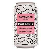 Mad Tasty Sparkling Water - Watermelon Kiwi, 12oz. THUMBNAIL