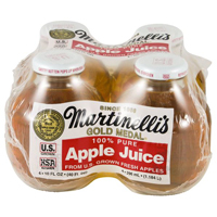 Martinelli's 100% Apple Juice 4pk, 10oz ea. THUMBNAIL