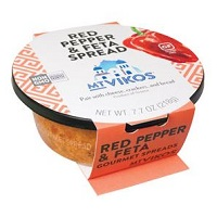 Mt. Vikos Red Pepper and Feta Spread, 7.7oz. LARGE