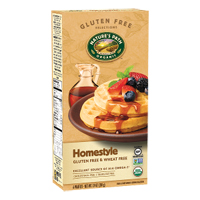 Nature's Path Gluten Free Homestyle Frozen Waffles (6), 7.4oz. LARGE