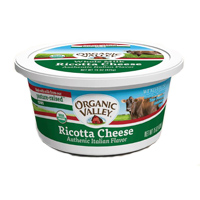 Organic Valley Ricotta Cheese, 15oz. MAIN