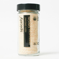 Spicely Organic Granulated Onion, 1.8 oz. MAIN