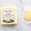 Organic Pastures Raw Cheddar Cheese, 16oz. THUMBNAIL