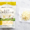 Organic Pastures Raw Shredded Cheddar Cheese, 8oz. THUMBNAIL