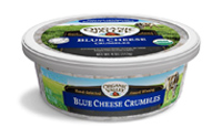Organic Valley Blue Cheese Crumbles, 4oz MAIN