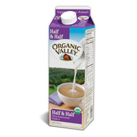 Organic Valley Half & Half, Quart MAIN