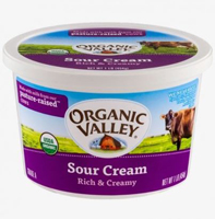 Organic Valley Sour Cream, 16oz. LARGE