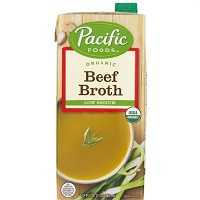 Pacific Organic Low Sodium Beef Broth, 32oz. LARGE
