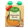 Pacific Organic Vegetable Broth, 4pk- 8oz THUMBNAIL