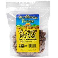 Sunridge Glazed Pecans, 6oz. LARGE