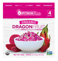 Pitaya Plus Organic Dragonfruit Smoothie Packs, 4-3.5 oz MAIN