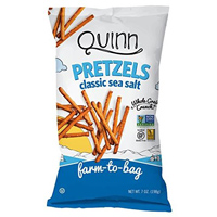 Quinn GF Classic Sea Salt Pretzels, 7 oz. MAIN