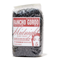 Rancho Gordo Midnight Black Beans, 16 oz. MAIN