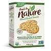 Back to Nature Organic Roasted Garlic & Herb Stone-ground Wheat Crackers, 6 oz. THUMBNAIL