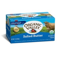 Organic Valley Salted Butter, 16oz. LARGE