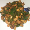 *Sauteed Swiss Chard and Sausage