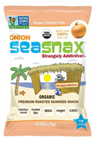 SeaSnax Organic Roasted Seaweed Snack (Onion), 0.18oz. MAIN