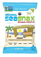 SeaSnax Organic Roasted Seaweed Snack (Original), 0.18oz. MAIN