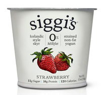 Siggi's Strawberry Skyr Yogurt, 5.3oz. MAIN