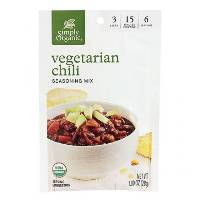 Simply Organic Vegetarian Chili Seasoning, 1 oz. MAIN