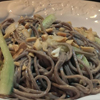 *Soba Noodles with Scallions & Peanut Dressing