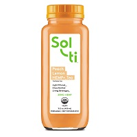 Sol-ti Peach Lemon HEMP+ Tea, 15.5oz. THUMBNAIL