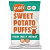 Spudsy Vegan Cheddar Sweet Potato Puffs, 4oz. THUMBNAIL