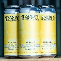 Strand Brewing Co. Blonde Ale, 4-pack THUMBNAIL