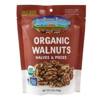 Sunridge Organic Walnuts, 5oz. LARGE